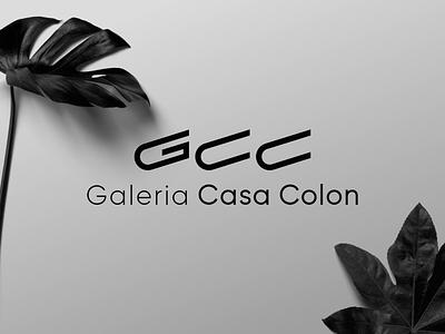 GCC Brand Identity initial logo art gallery gallery art gallery brand identity visual design typography logos logo logo design branding