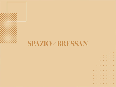 Spazio Bressan Brand Identity interior design architecture vector brand identity branding logo typography logo design