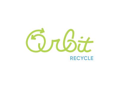Orbit Logo Design aftereffects logoanimation logomotion typography logo design logo