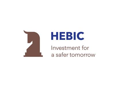 Hebic Logo Animation logodesigner logoanimation motion design motiongraphics financial logodesign logo animation