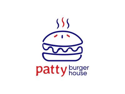 Patty Burger House Logomotion branding restaurant logo restaurant branding restaurant burger branding fast food design motion design brand identity logodesign logomotion typography animation motiongraphics logo design fastfood burger logo foodbranding fastfoodbranding logo