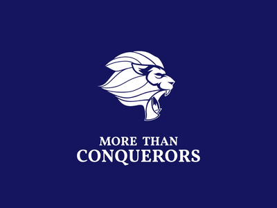 More Than Conquerors Logomotion design power logo mascot mascotlogo motion design branding brand identity animation motiongraphics logodesign illustration power logomotion logo design logo