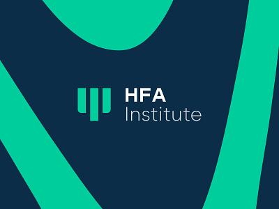 HFA Brand Identity Design brand identity design letterhead stationery design businesscard pattern design zebra pattern green psychology center logo visual identity logo design branding logo