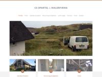 Webdesign - CS Spartel & Malerfirma
