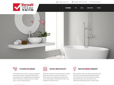 Webdesign - Hornsyld VVS & Blik web design
