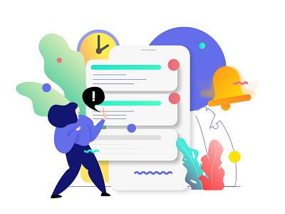 Notification Feature Illustration ewallet notification illustration isometric mobile app ux ui developer redesign webdevelopment webdevelop webdeveloping webdevelopers customillustrations appdesigner