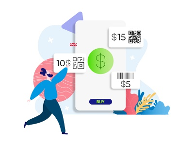 Buy Phone Card E-Wallet Feature Illustration payment bill card ewallet shopping buy illustration isometric mobile app ux ui developer redesign webdevelopment webdevelop webdeveloping webdevelopers customillustrations appdesigner