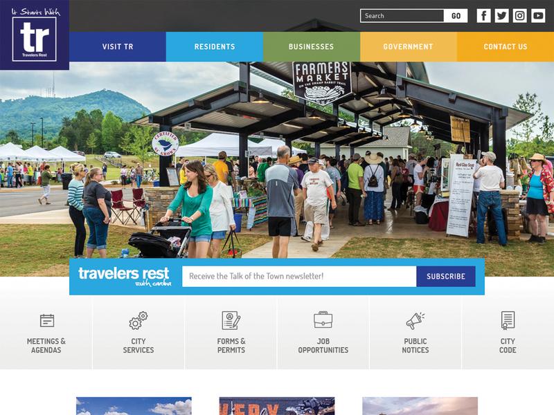 City of Travelers Rest Website