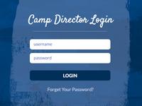 Camp Director Login
