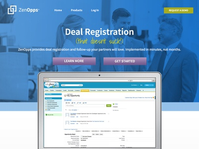 ZenOpps Homepage