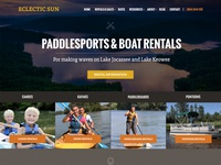 Boat Rental Company Website