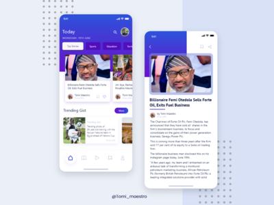 News Blog App