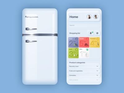 Neumorphic Shopping List App