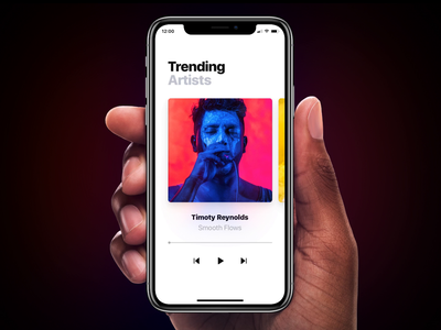 Page Tool: Custom Properties interaction ios effects pile cube cover flow swipe cards player music mobile app ui gif animation framer