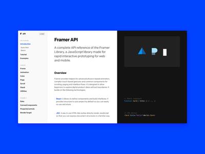 Framer Playground animation documentation library motion ui docs api playground framer