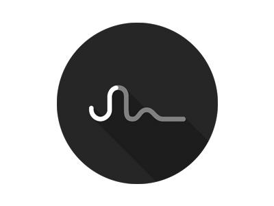 New Logo print joern shadow greyscale simple line outline logo