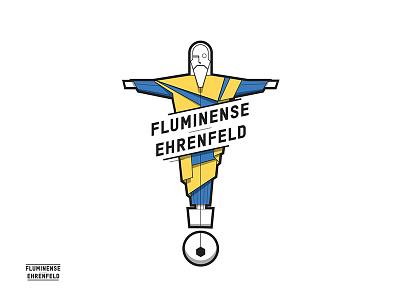 Fluminense Ehrenfeld Logo vector jesus brazil rio cologne joern westhoff football sport table football logo