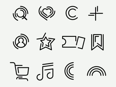 Cratr – UI Icons