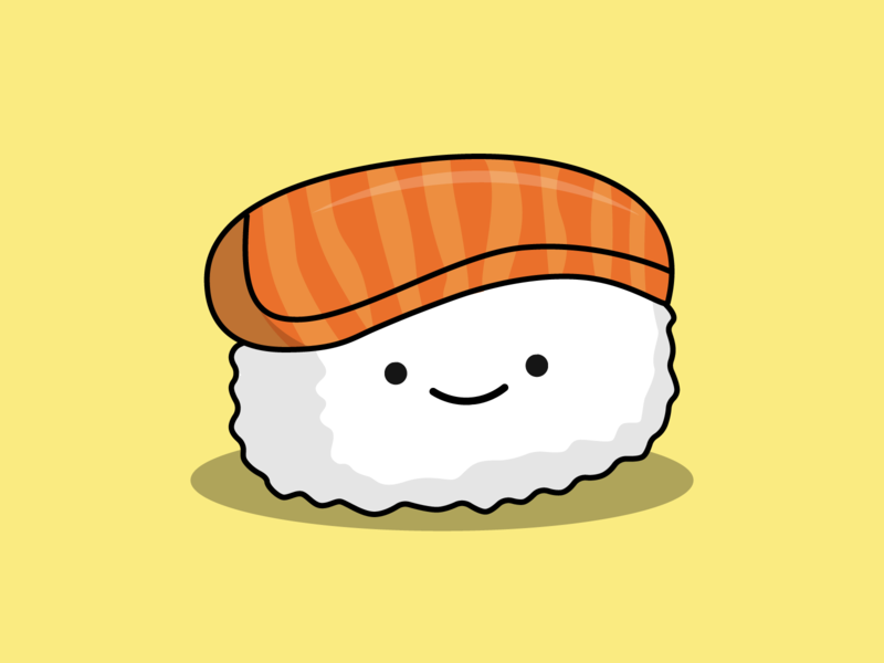 Day 22/100 - Sushi the100dayproject 100daysofillustration design adobe vector illustration adobe illustrator sushi