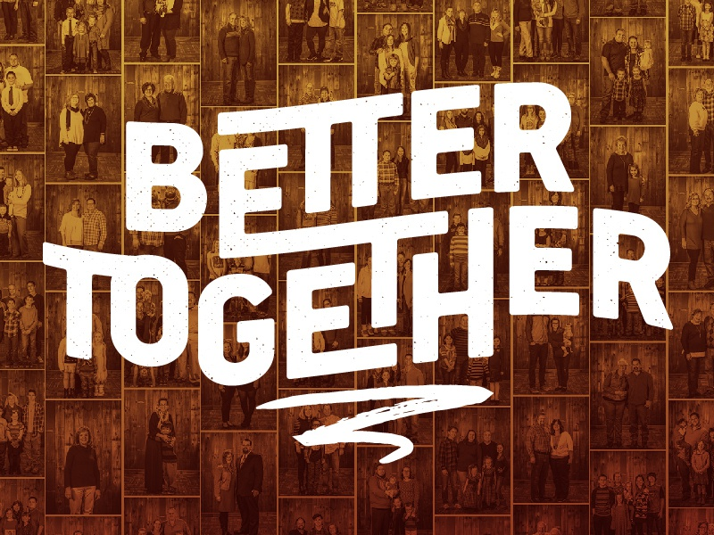 Better Together Series Title