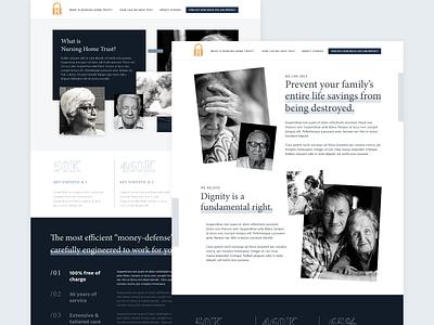 NHT Mockups branding web design ux ui