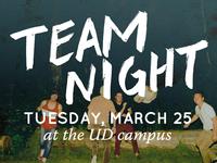 Team Night Ad