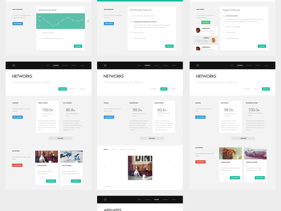 Quaterlap infographics minimal typography ui ux horizontal parallax design flat layout user experience user interface