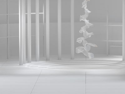 3D ribbon animation digital clean branding 3d animation 3d design