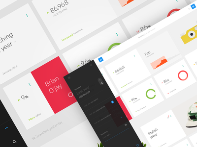 Askdata Data Visualization Concept minimal ui design ux app web app social dashboard contemporary user experience user interface