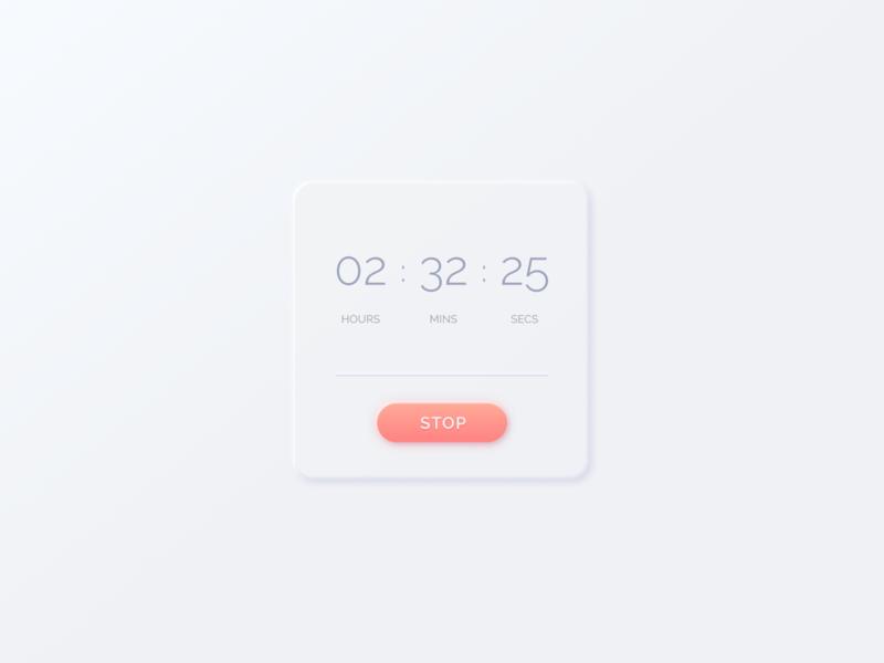 Figma | Countdown Timer