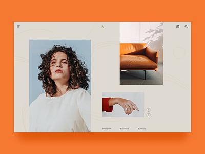 Fashion web UI design web design dailyui graphic design design ui