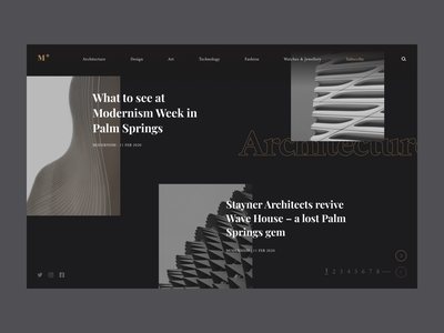 Mode Website Design web design design figma graphic design dailyui ui