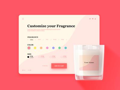 DailyUI#33 - Customize Product