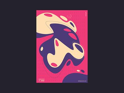 Poster // 003 creative digital art poster art graphic design design