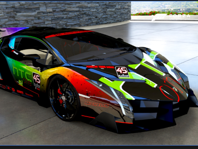 Rainbow Lambo By Morgen Miller On Dribbble