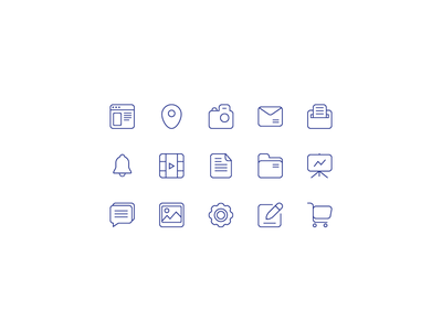 Free Icons icons free vector ai rounded