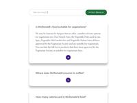 McDonald's Suppliers Web Proposal