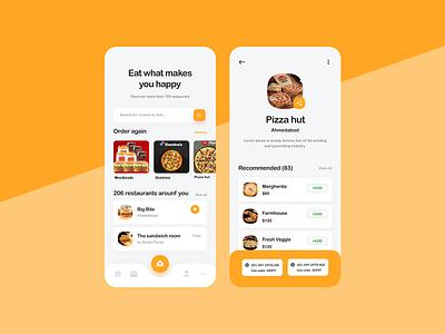 Online Food Ordering App appconcept food delivery onlinefood foodapp appdesign uidesign ux food ui app