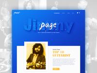 Jimmy Page  ui web