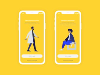 yello.w | Mental Health App - UX/UI