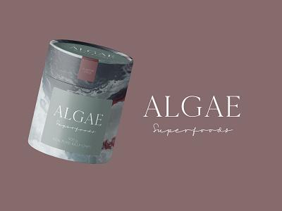 Algae Superfoods Packaging product branding design novel food