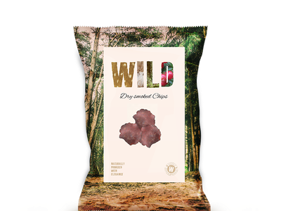 Deer Chips Wild Bag product chips branding