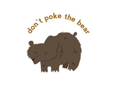 Don't Poke the Bear!! illustrator dont poke the bear camp bear