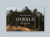 Oswald Type Practice