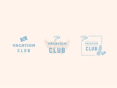 THE VACATION CLUB club logo logo logos