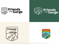 Friends of the Gorge Rebrand Process