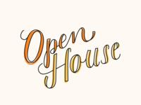 Open House Script