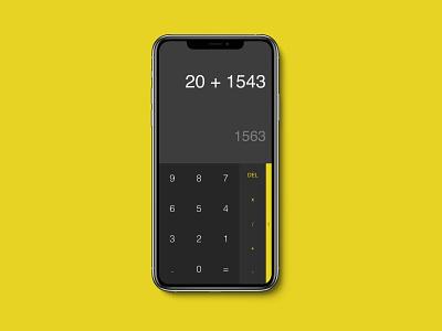 Daily UI 004 - Calculator uidesign uiux ui  ux 004 calculator ui daily