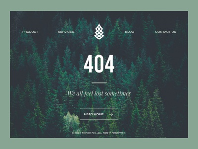 Daily UI #008 - 404 page forest lost daily ui 008 daily 100 challenge daily ui dailyui daily 404
