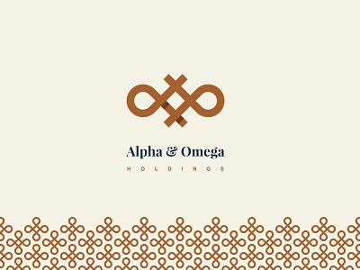 Alpha and Omega — Logo Design. belize greek omega alpha identity design identity vector branding logo